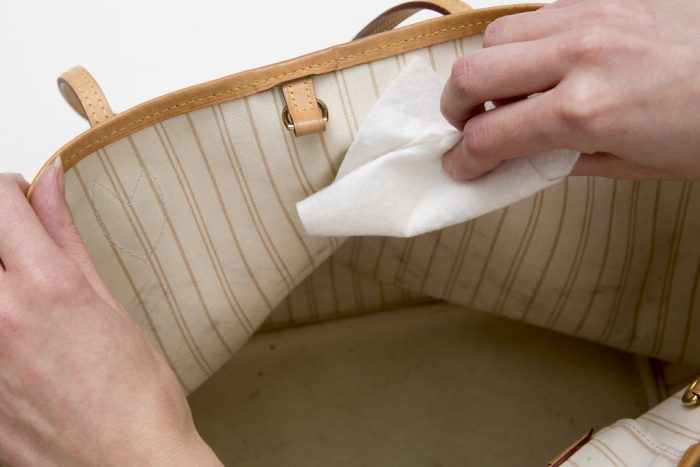 Handbag Lining Cleaning and Restoration - The Handbag Spa
