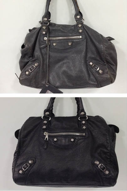 They Then Carried Out A Full Clean To Remove Any Surface Dirt From The Handbag Colour Restoring It Back Black Now This Bag Is Looking Revived And