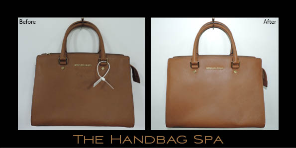 This Saffiano Prada Double Zip Tote Was In Dire Need Of Stain Removal When It Came To The Handbag Spa Thanks A Full Clean And Treatment