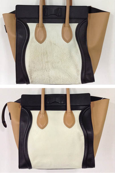After Undertaking A Celine Handbag Cleaning Treatment Followed By Dye Transfer Removal And Colour Restoration Process This Bag Was Ready To Be Worn With