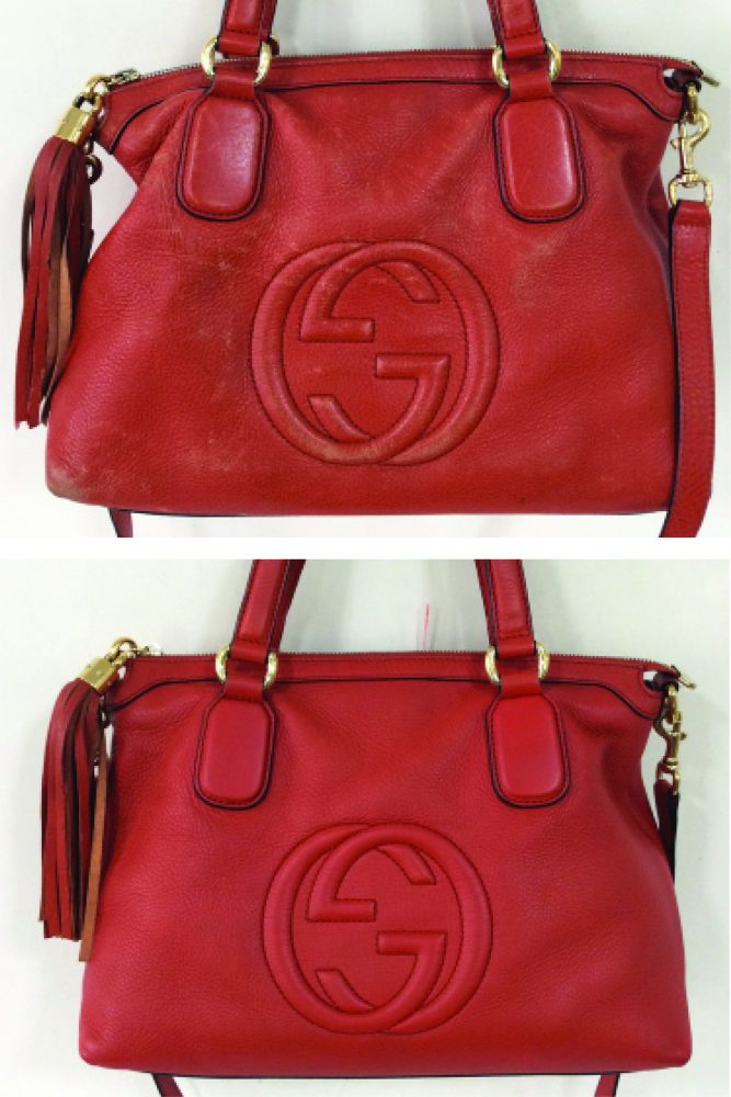 0beefa316b8 After a HBSpa Clean and Full Handbag Colour Restoration this Gucci is in  tip-top condition once again.