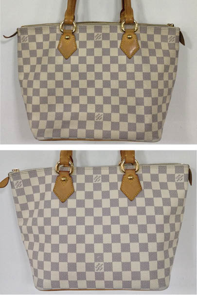 c81a0f73486c Dye Transfer blighted the bottom of this Louis Vuitton Neverfull bag. This  customer sent it into the Handbag Spa for our expert technicians to  undertake a ...
