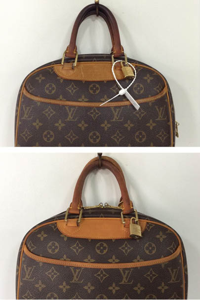 7addc140c8 ... followed by a Louis Vuitton Handbag Cleaning treatment and overall  Vachetta Restoration process, the handles were lightened and marks on the  leather ...