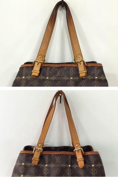 52c428c2b4 For a Louis Vuitton bag with a leather trim, we would recommend following  up the Handle Degrease process with our overall Vachetta Restoration  treatment.
