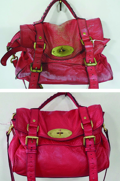 The Base Of Bag Can See Some Serious Wear And Tear Which Was Case With This Mulberry Bayswater In Order To Re Iconic Back Its Original