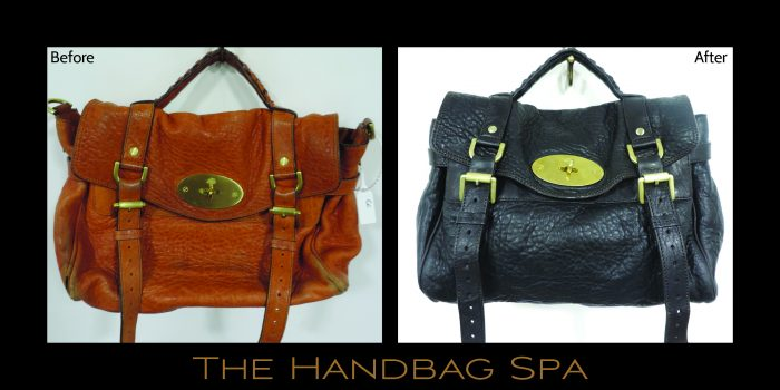 dcbd165fd39e Thanks to a Colour Change from mandarin orange to black at The Handbag Spa