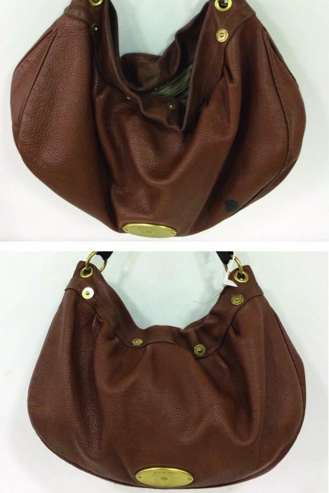 7e2d13b75d This Mulberry Daria Hobo handbag has been well used and well loved. The  owner decided to send it into The Handbag Spa for some needed TLC and to  get rid of ...