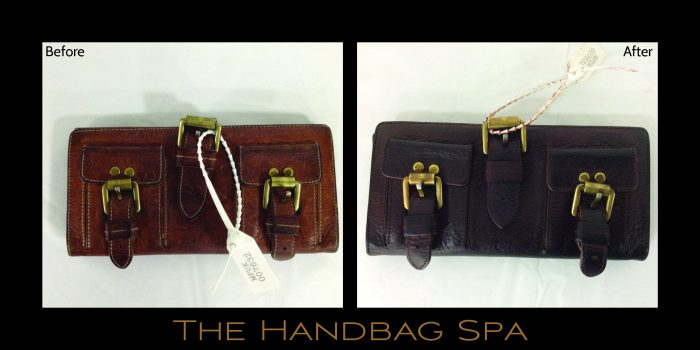 9ed9e5bde80c It s amazing to see what a difference the colour change had on the  completed Mulberry purse! Here at The Handbag Spa
