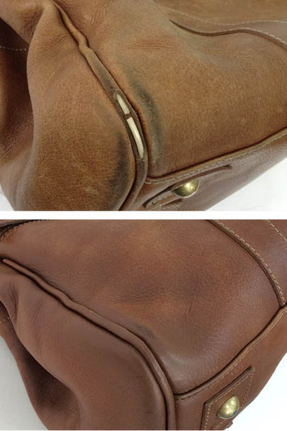 63d5549619ef Send your handbag into the spa (like this customer did with her Mulberry  Bayswater tote) for a Corner Repair and we ll get ...