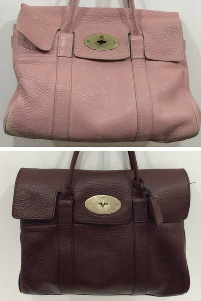 8e74dbf4523 This Mulberry Bayswater has been given a new lease of life and is now ready  for another season. Our makeover took a tired looking Pink Bayswater and ...